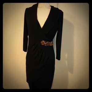 Caché black dress